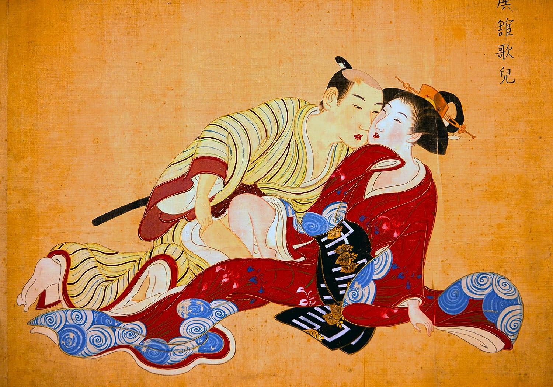 Amazon.com: Shunga PRINTS Shunga POSTER A3 Painting Japanese erotic ...