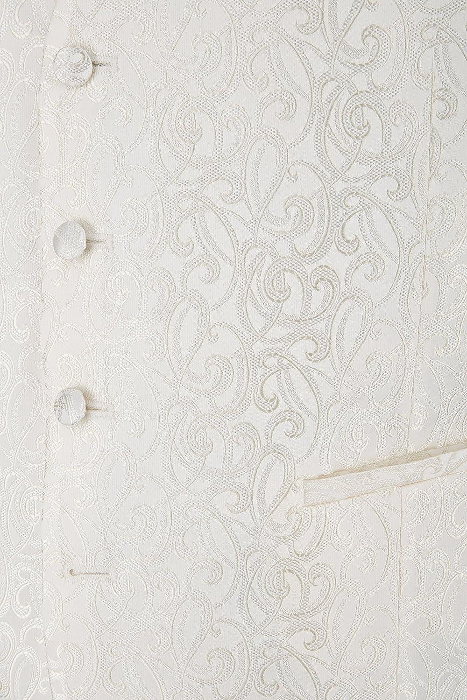 Hochzeitsweste von Wilvorst Slimline creme//ivory
