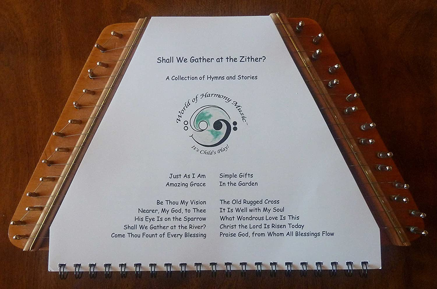 World of Harmony Music; Shall We Gather at the Zither? ~ A Collection of Hymns and Stories Arranged for Zither Debbie Center