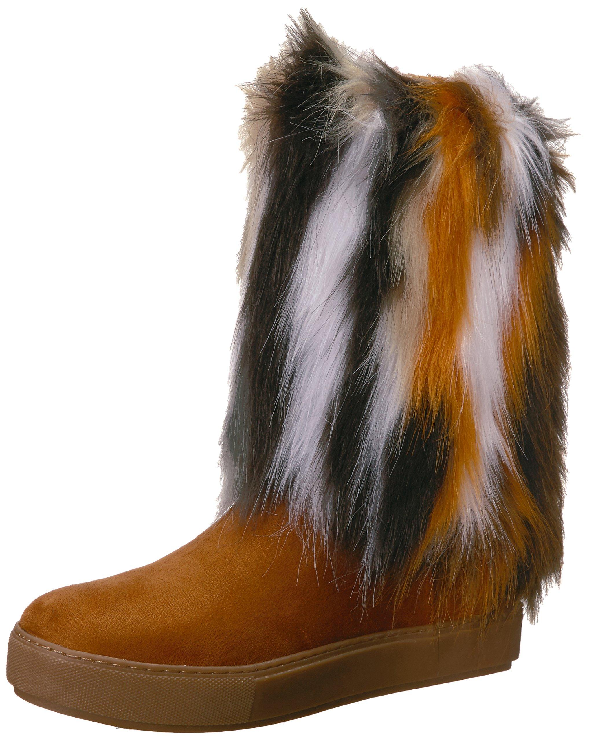 Penny Loves Kenny Women's Airbrush Winter Boot, Tan Multi, 8.5 W US
