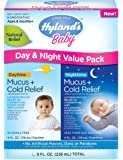 Hyland's Baby Mucus and Cold Relief Day & Night Value Pack, 8 Fluid Ounce