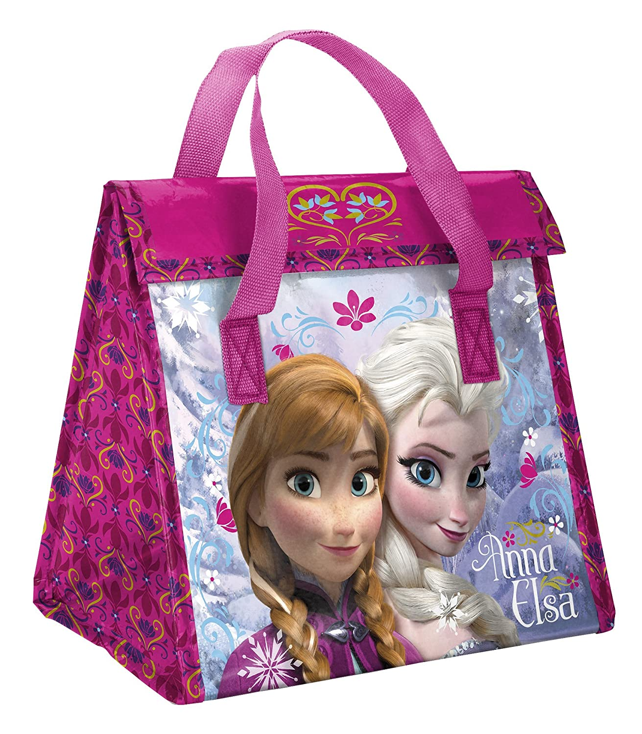 Disney Frozen Recycled Plastic Lunch Bag, Elsa & Anna