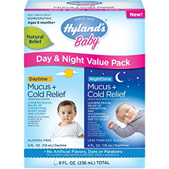 Amazon Com Hyland S Baby Mucus And Cold Relief Day