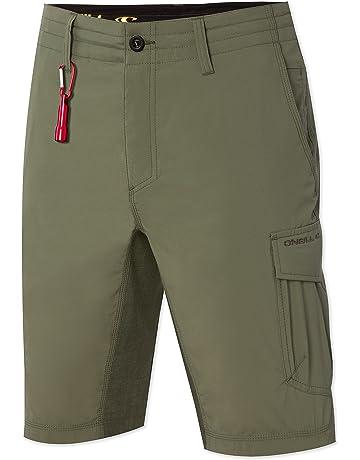 d25d3ba655 O'Neill Men's 21 Inch Outseam Cargo Pocket Hybrid Stretch Walk Short
