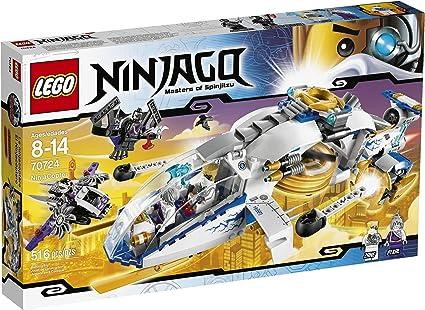 Amazon.com: LEGO Ninjago NinjaCopter número 70724 ...