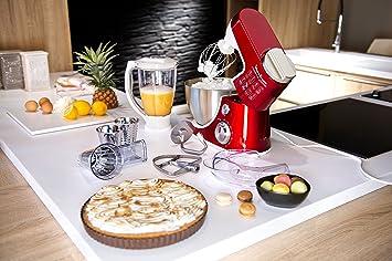 Moulinex QA403G01 Compacteo - Robot de cocina (900 W), color rojo: Amazon.es: Hogar