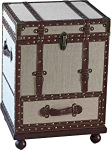 Coaster Home Furnishings CO-953356 Accent Cabinet, Beige and Bronze