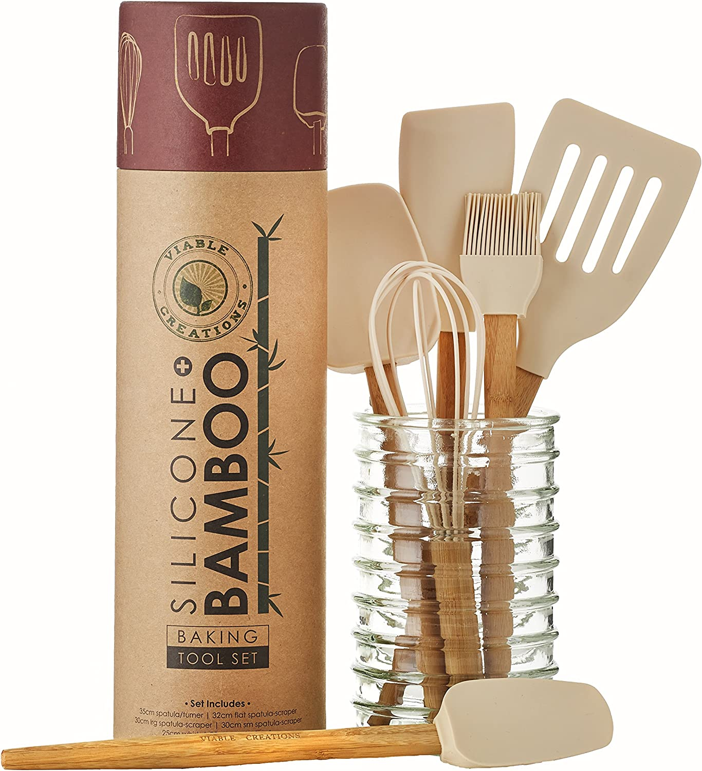 This one is for all those women who love to bake. This gift set has all the basic baking essentials like Whisk, Pastry Brush, Spatula Scraper, Turner, small spatula scraper, and a flat spatula scraper, This will help your loved one bake with ease.