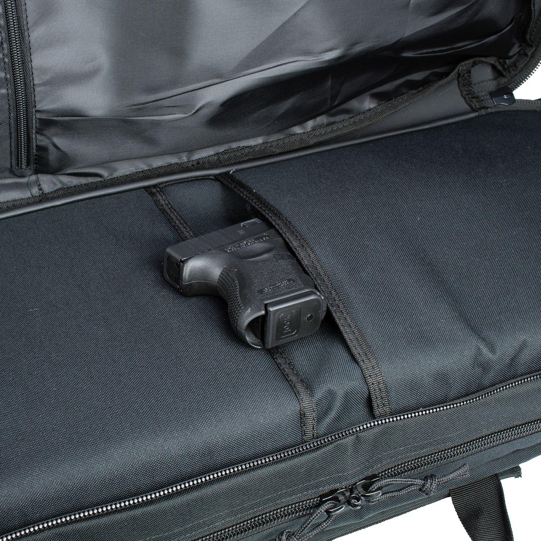 3/V Gear/-/Sac /à dos Ranger 42/rembourr/é pour fusil et pistolet Pochettes int/égr/ées