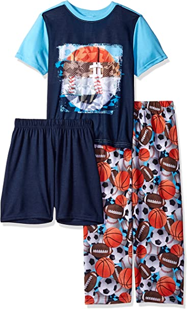 The Childrens Place Big Boys Top and Shorts Pajama Set