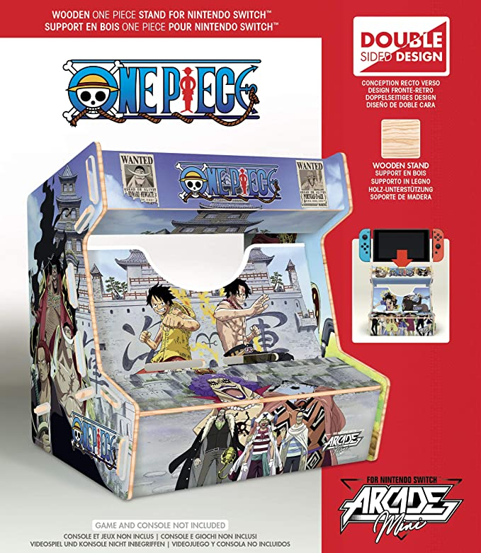 Meridiem Games - Meridiem Games - One Piece Arcade Mini (Nintendo Switch) (Nintendo Switch): Amazon.es: Videojuegos