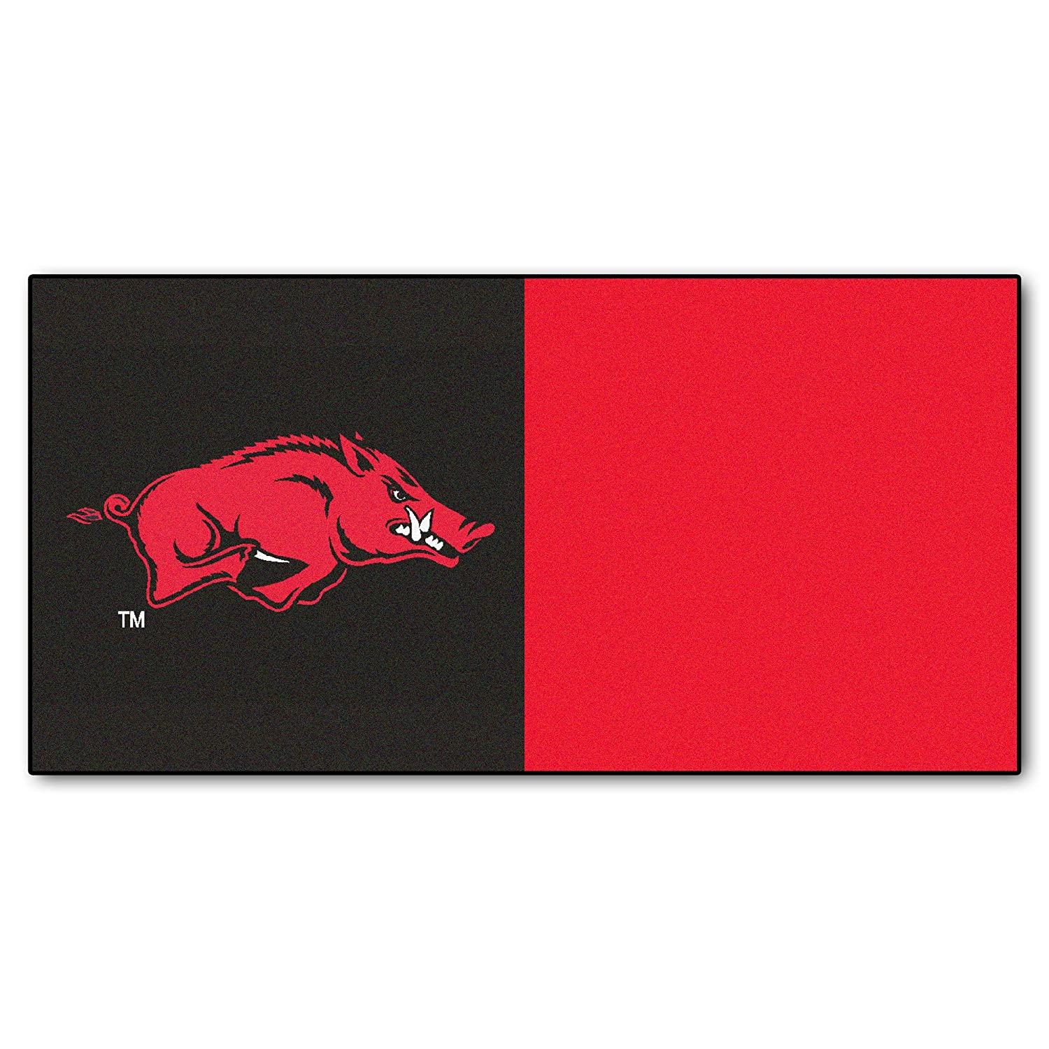 Fanmats Arkansas Razorbacks Team Carpet Tiles 8526