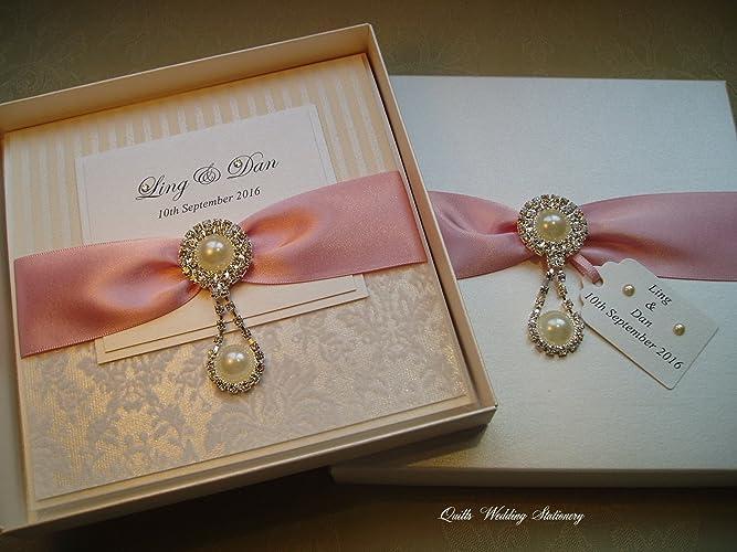 luxury boxed wedding invitation wedding invitation supplied in