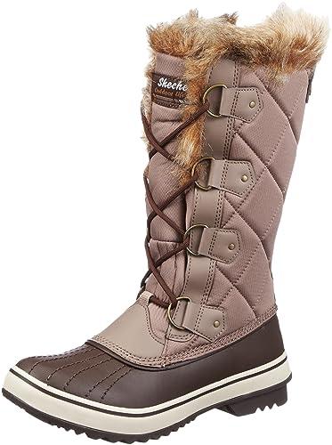 Skechers Womens Highlanders Matterhorn Mountain Snow Boots Gray Grau (TPCH) Size: 3.5