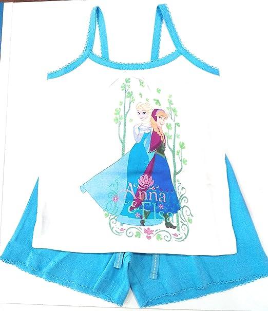 Pijama Frozen Elsa y Anna Tirantes (2 años)