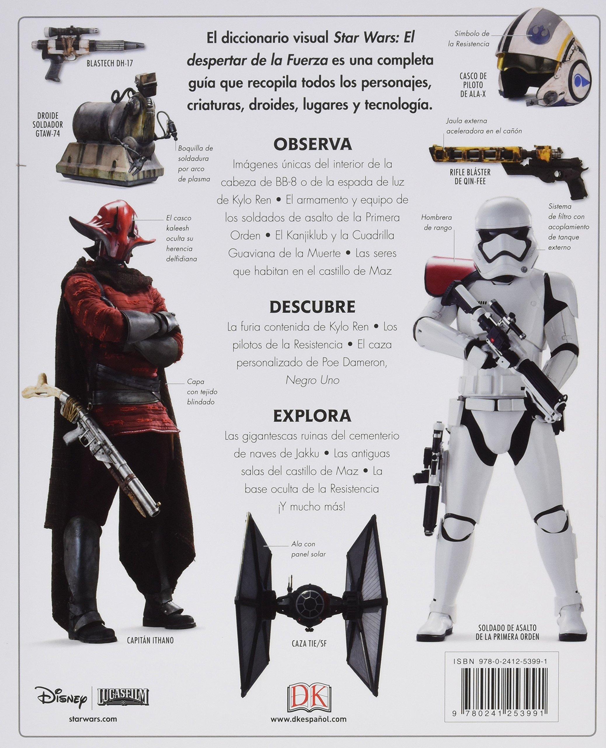 Star Wars: el despertar de la Fuerza: VV.AA: 9780241253991: Amazon.com: Books