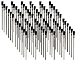 "Pro Grade - Acid Brushes - 72 Count 3/8"" Boar"