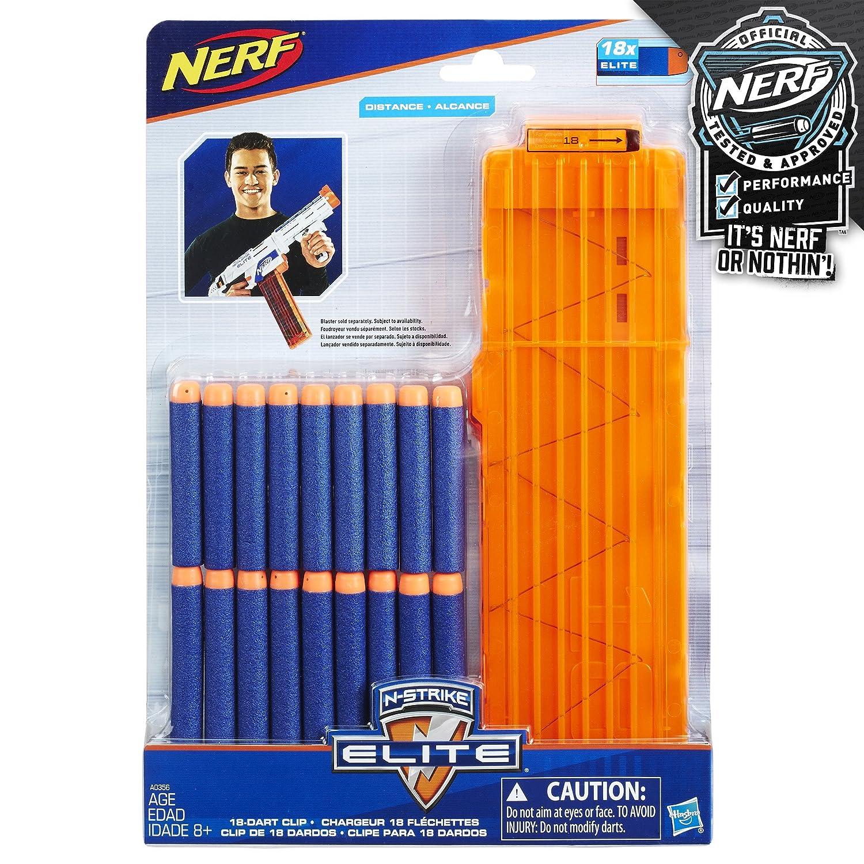 Amazon ficial Nerf N Strike Elite Series 18 Dart Quick Reload Clip Toys & Games