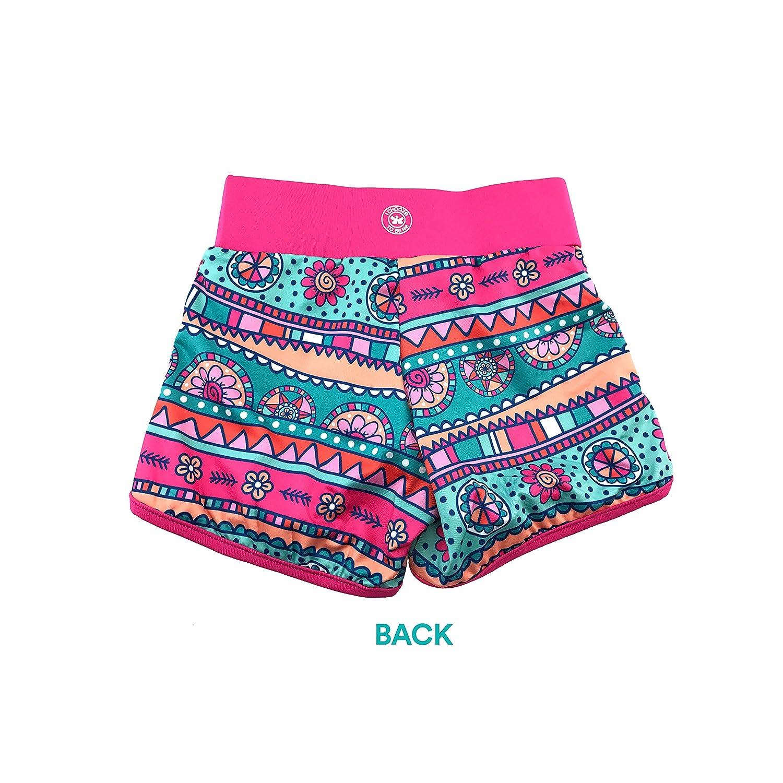 CHOOZE Little Girls Kids Fashion Activewear Sprint Shorts