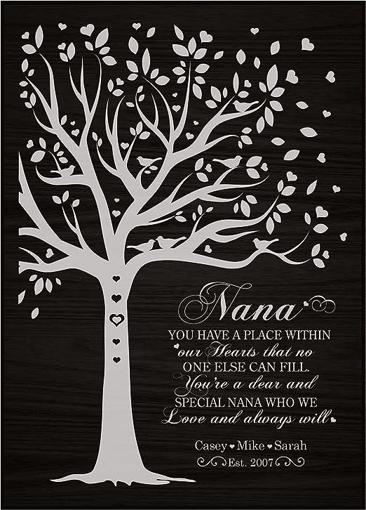 Gran Suit Grand Mother Fun Themed Baby Grow I LOVE MY NANA Grandma