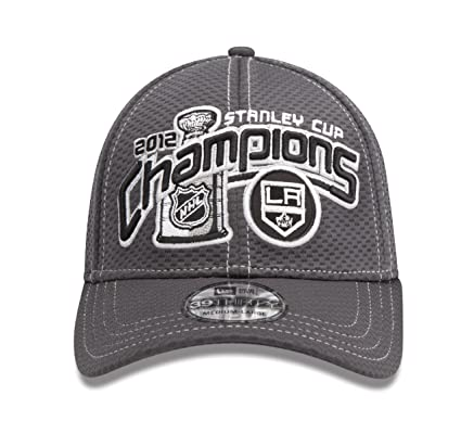 NHL Los Angeles Kings Official 2012 Stanley Cup Champion Locker Room Cap Small Medium