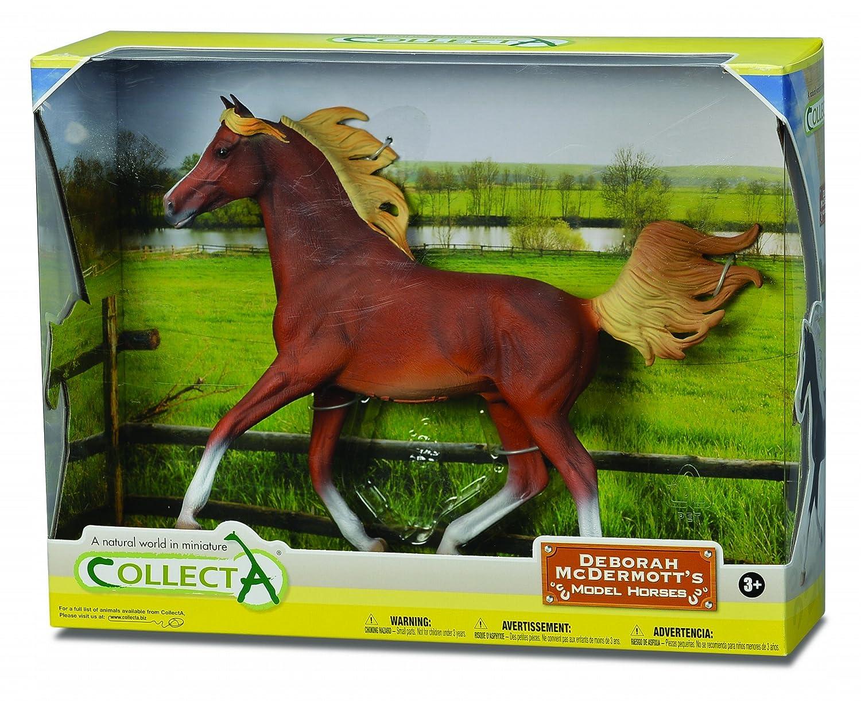 Amazon Collecta Arabian Stallion Chestnut In Window Box 112