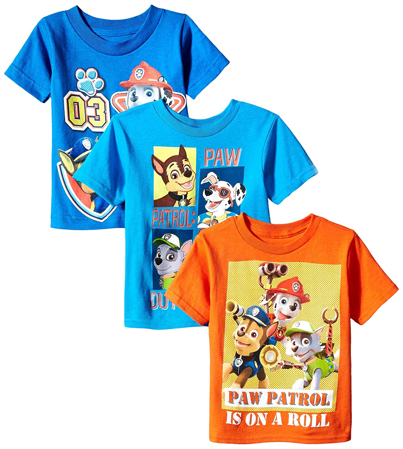 Amazon Paw Patrol Boys Value Pack T Shirt Clothing