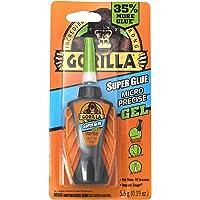 Gorilla Micro Precise Super Glue Gel, 5.5 gram, Clear, (Pack of 1) - 102177