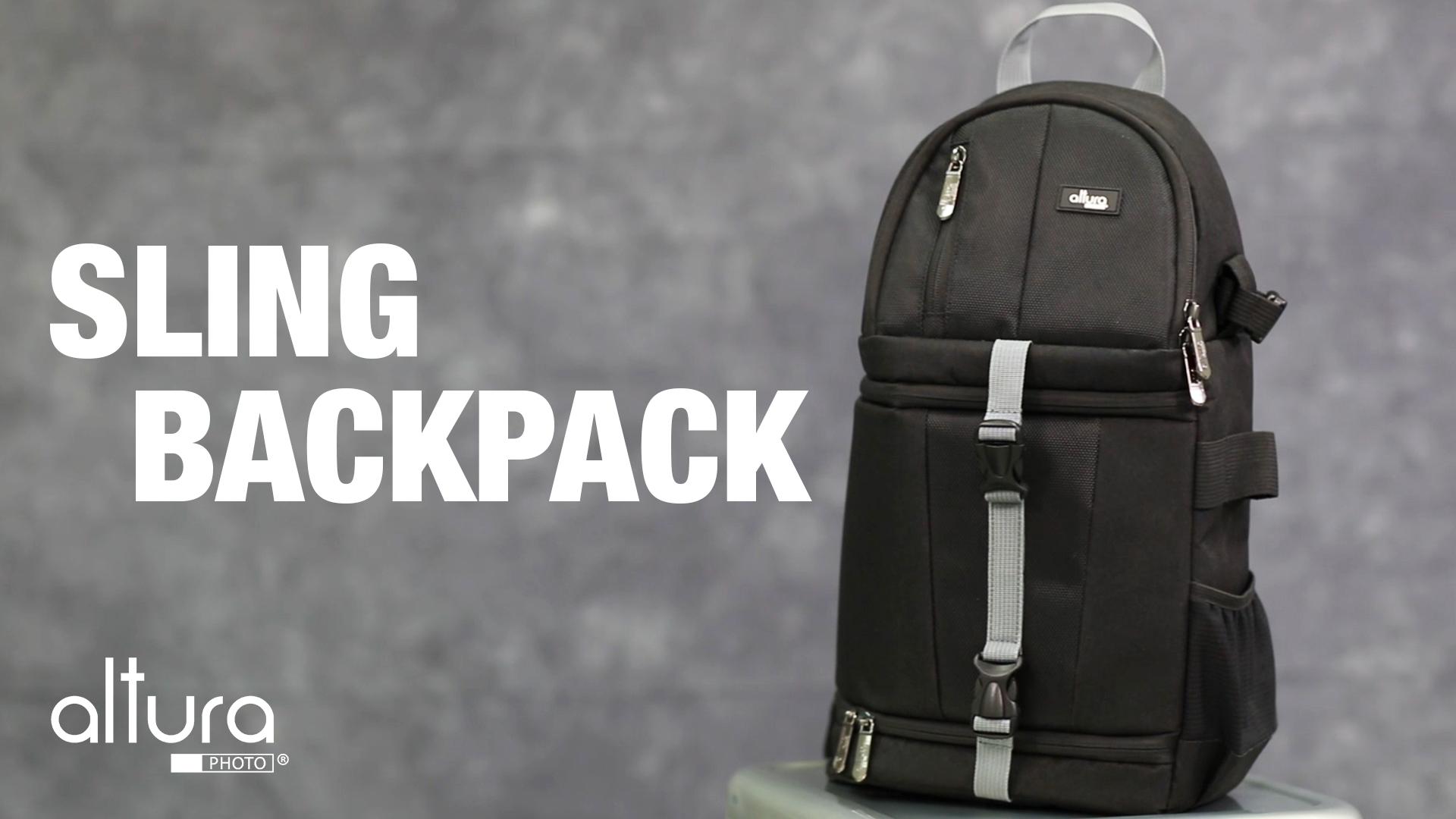 Flipboard Altura Photo Camera Sling Backpack For Dslr And