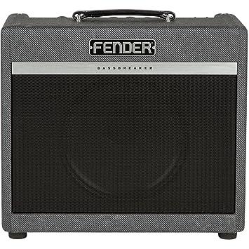 Fender Bassbreaker 15 Combo · Amplificador guitarra eléctrica: Amazon.es: Instrumentos musicales
