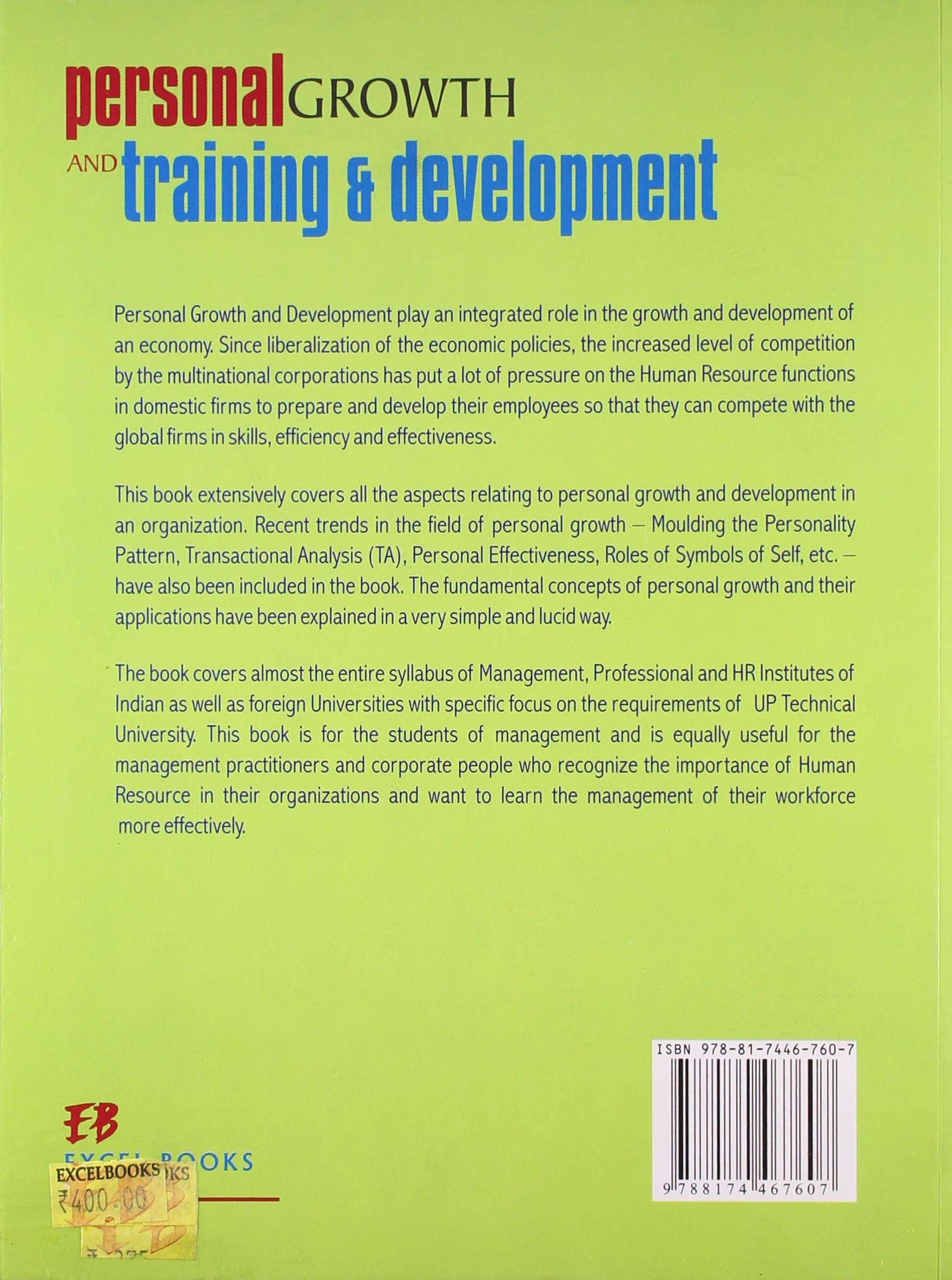 Personal Growth And Training Development Madhurima Lall Sheetal