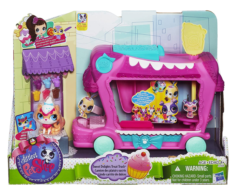 Amazon.es: Littlest Petshop - Camión de dulces (Hasbro A1356E24): Juguetes y juegos