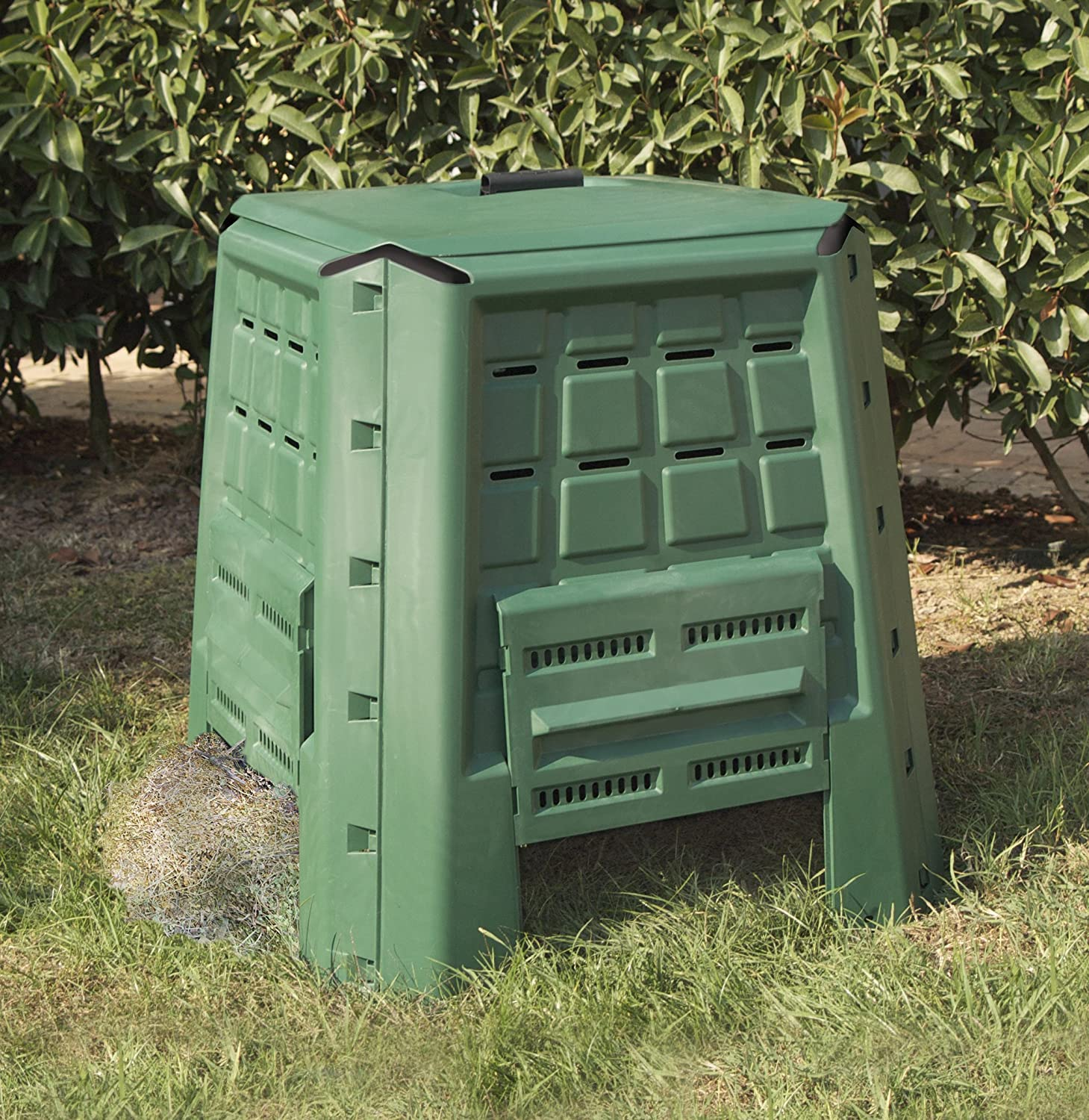 Art Plast BC380 Composter In Plastica, Robusto, Verde: Amazon.it: Fai Da Te