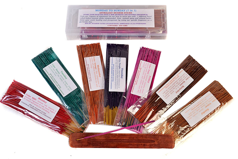 SugandhVatika Astrology (Monday To Sunday) 7 IN 1 Incense