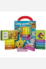 Disney Classics Winnie, Dumbo, Nemo and More! - Let's Learn My First Library 12 Board Book Block Set - PI Kids Board book