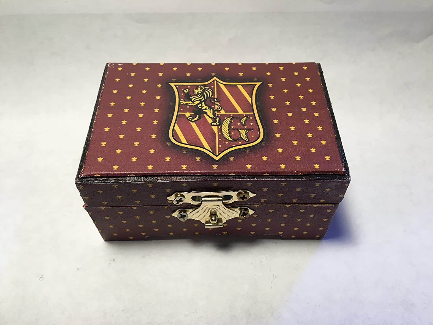 Harry Potter Gryffindor Hogwarts Inspired Proposal Engagement Ring Box Ring Bearer Pillow Box Customizable