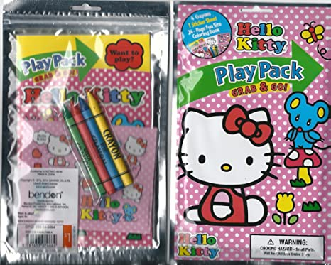 Hello Kitty Grab /& Go Play Pack