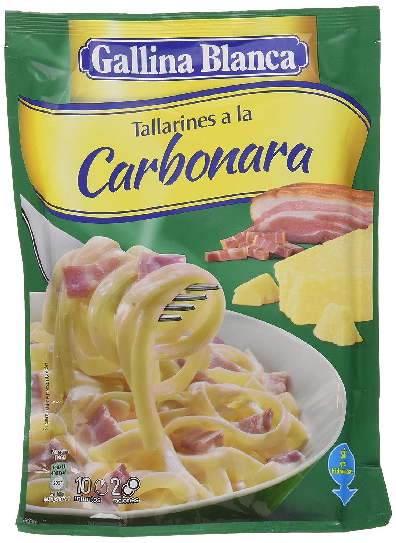 Gallina Blanca - Tallarines a la Carbonara, 143 g: Amazon.es: Alimentación y bebidas