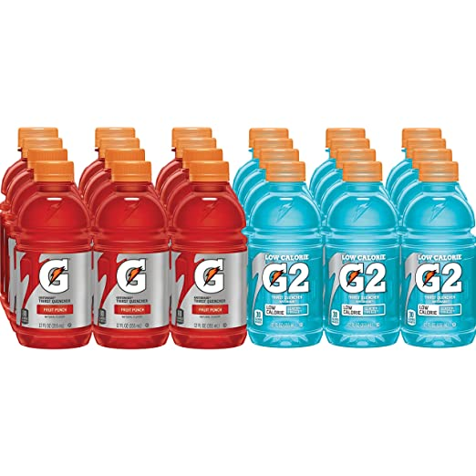 G2 Glacier Freeze and Fruit Punch