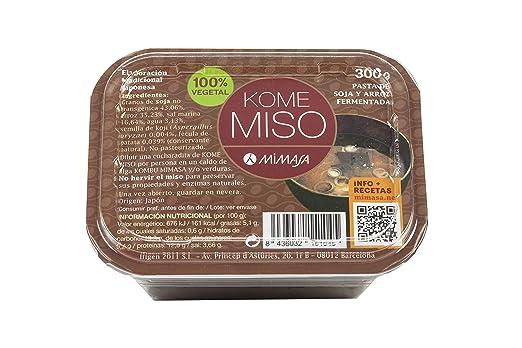 MIMASA KOME MISO (ARROZ BLANCO) 300G NO PASTEURIZADO: Amazon.es ...