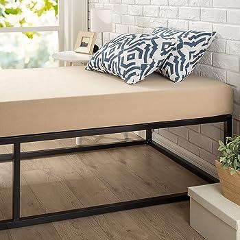 Amazon Com Zinus Modern Studio 14 Inch Platforma Bed