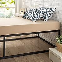 Zinus Modern Studio 6 Inch Platforma Low Profile Bed Frame/Mattress Foundation/Boxspring Optional/Wood slat support, Twin