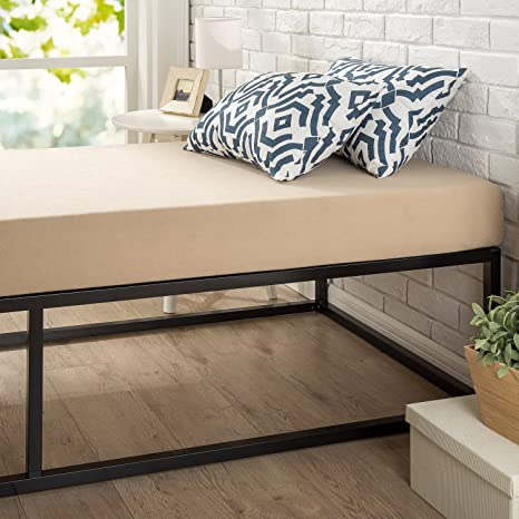 Amazoncom Zinus Joseph Modern Studio 14 Inch Platforma Bed Frame