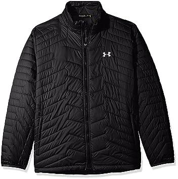 under armour reactor jacket. under armour men\u0027s coldgear reactor jacket, black/black, small jacket