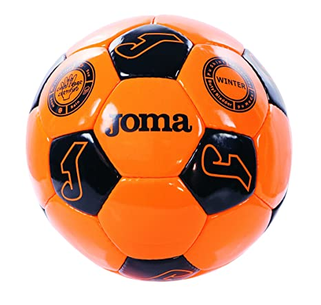 Joma - Balon w-Inter-t5 Naranja-Negro: Amazon.es: Deportes y aire ...