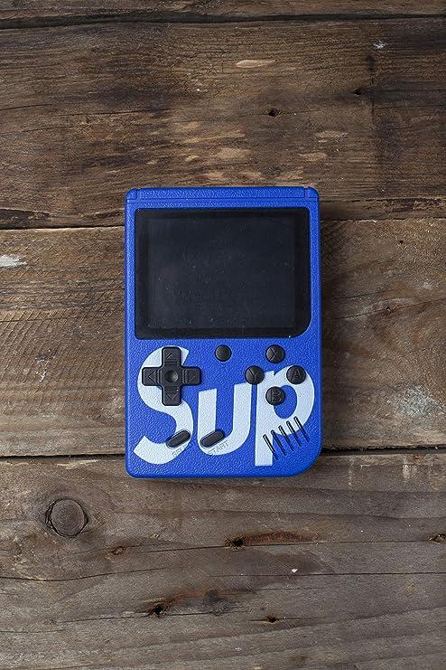 Blue Construido en 268 Videojuegos Retro cl/ásicos Pantalla de 2 Pulgadas Consola de Juegos port/átil Sistema de Reproductor de Videojuegos Arcade para ni/ño Consola de Juegos port/átil para ni/ños