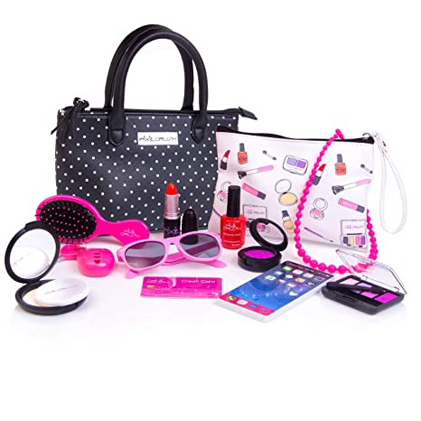 cc2290912325 Amazon.com  PixieCrush Pretend Play Kid Purse Set for Girls with ...