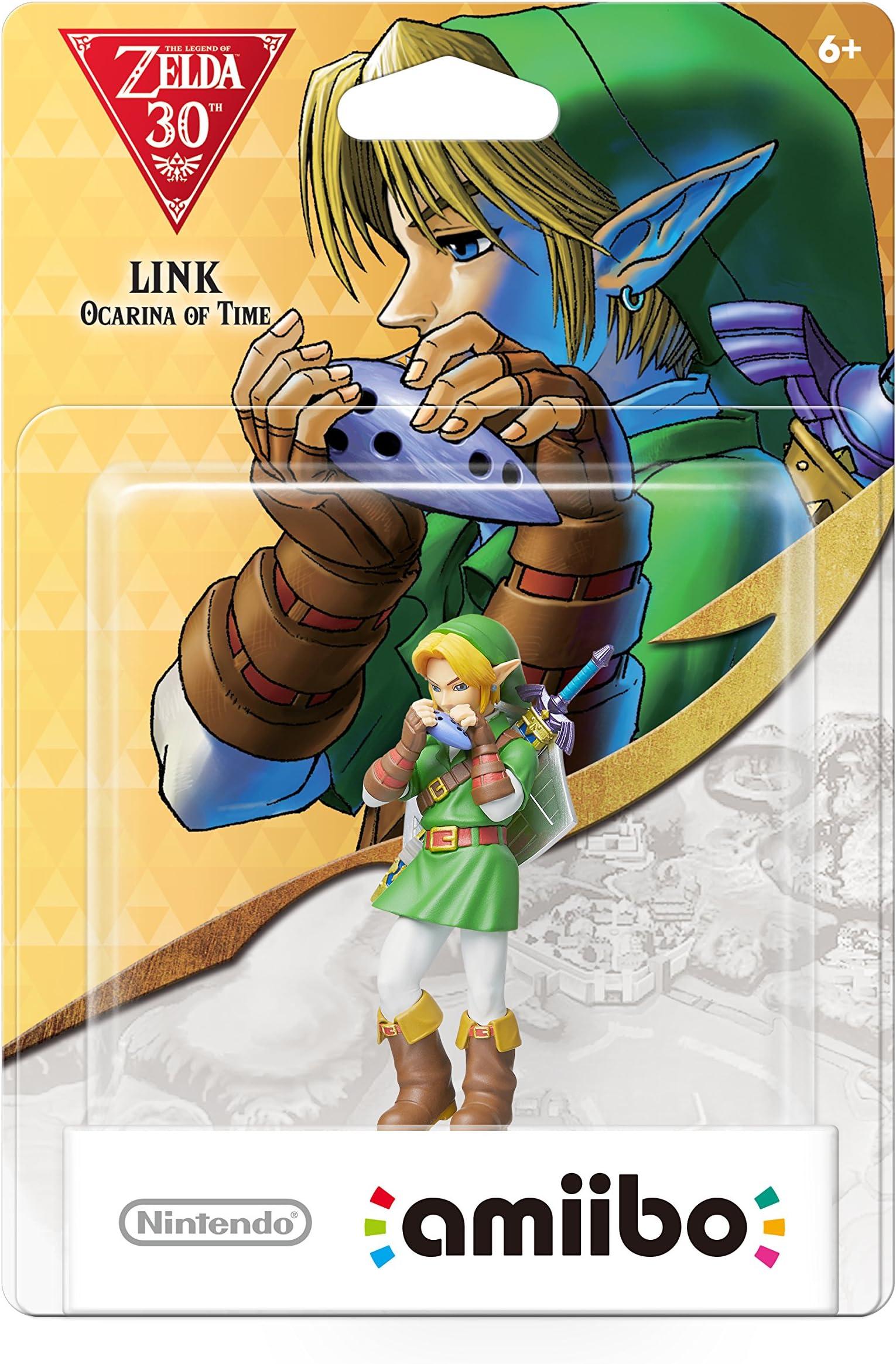 Amazon.com: Nintendo Link: Ocarina of Time amiibo - Nintendo ...