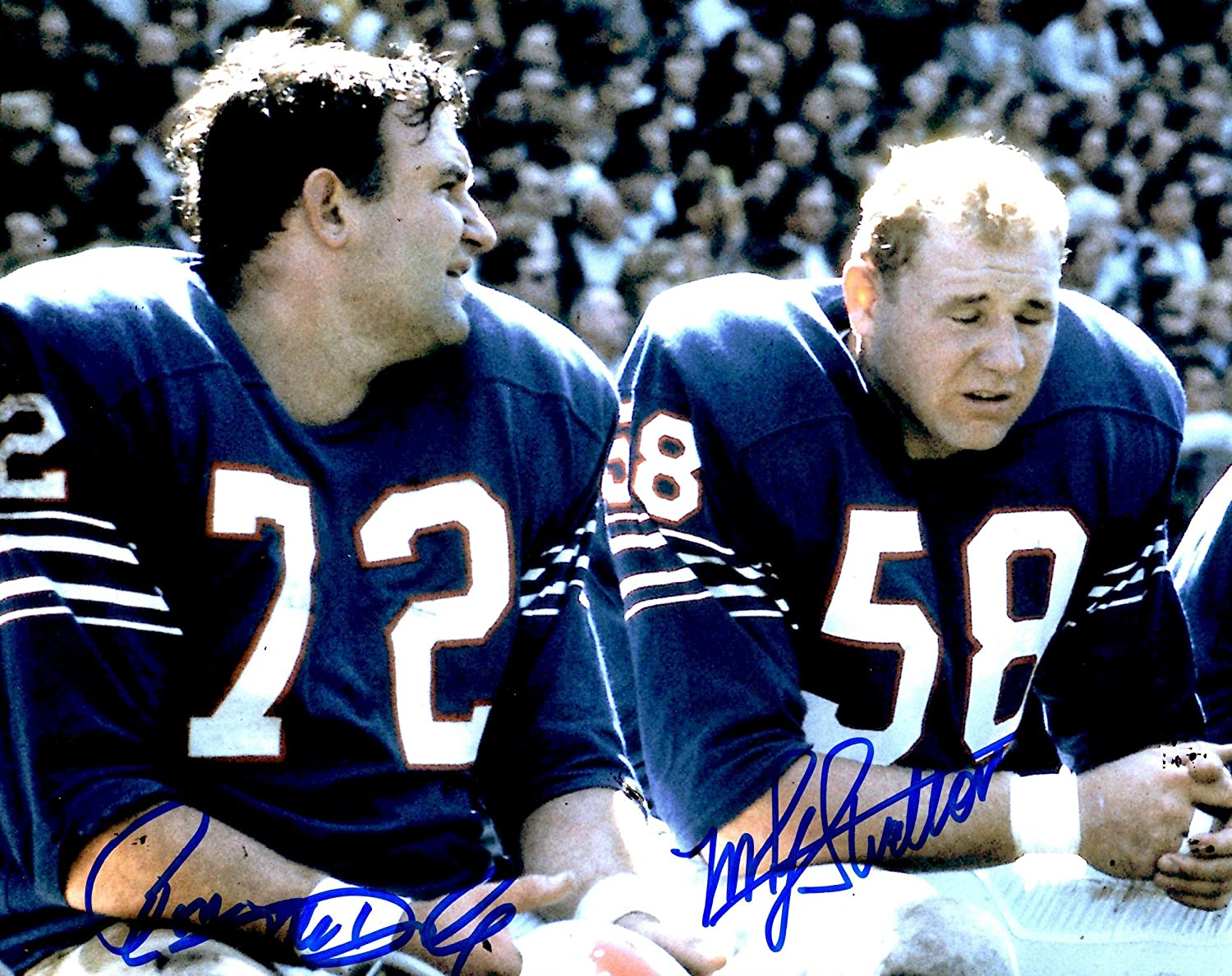 e454441b5c7 Autographed Ron MCDOLE & Mike Stratton 8X10 Buffalo Bills Photo - Autographed  NFL Photos: Amazon.ca: Sports & Outdoors