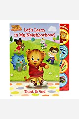 Let's Learn in My Neighborhood- Daniel Tiger (Daniel Tiger's Neighborhood) Board book